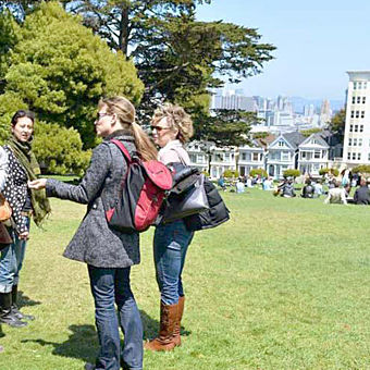 Painted Ladies on Food Tour in San Francisco