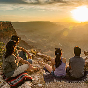 South Rim Sunset Tour of the Grand Canyon