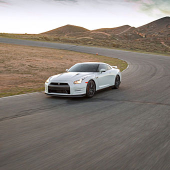 Race a Nissan GT-R in Austin