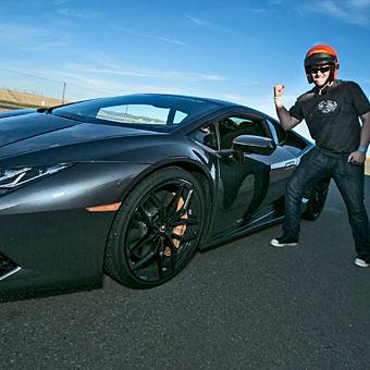 Race a Lamborghini