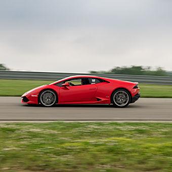 Race a Lamborghini at Nelson Ledges Road Course