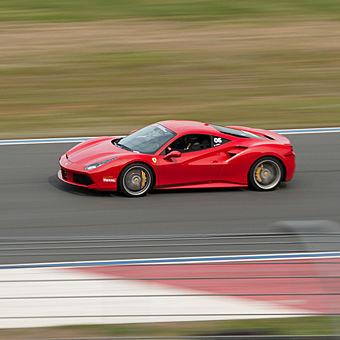 Race a Ferrari at Raceway Park of the Midlands
