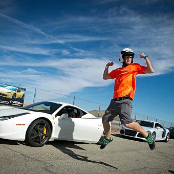Supercar Thrill Ride