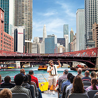 Chicago River Architectural Tour