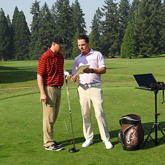 Private Golf Lesson from PGA Professional Sean Lanyi