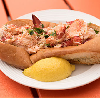 Lobster Roll on Boston Food and Drink Tour