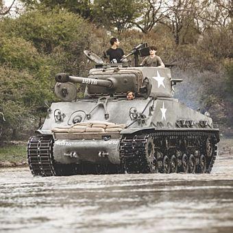Drive a Sherman Tank near San Antonio