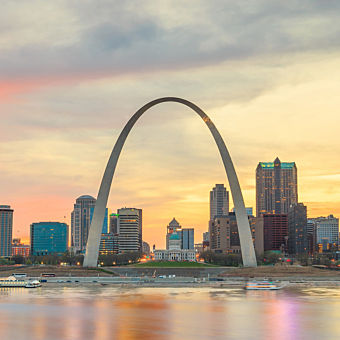 Guided History Tour in St. Louis