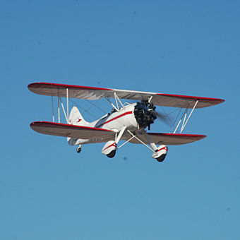 Biplane Flight Lesson
