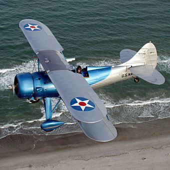 Space Coast Sunset Biplane Tour in Florida