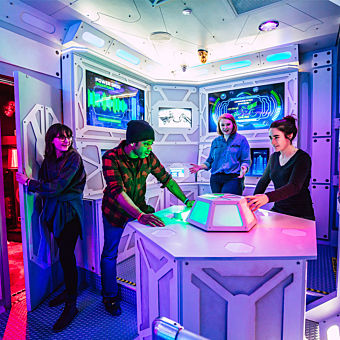 Mission Mars Escape Room in Nashville