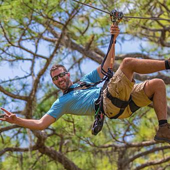 Tampa Zipline & Treetop Adventure