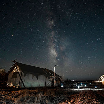 Glamping near the Grand Canyon