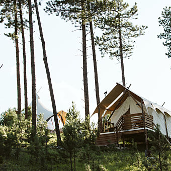 Deluxe Safari Tent in the Black Hills
