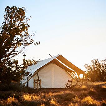 Safari Tent Camping near Grand Canyon National Park