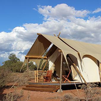 Deluxe Safari Tent near the Grand Canyon