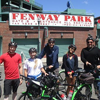 Boston Guided Bike Tour
