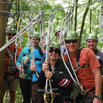 Group Zipline near Indinapolis