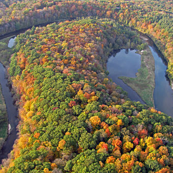 Aerial Sightseeing Tour in Perry, IA