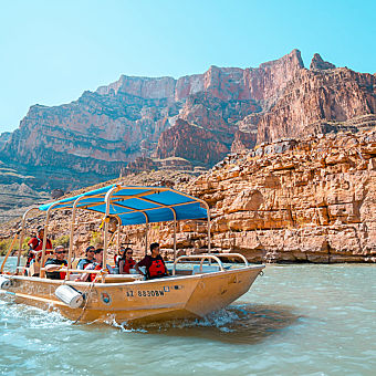 Boat Ride Through Grand Canyon
