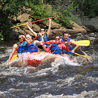 Whitewater Rafting near Philadelphia, PA