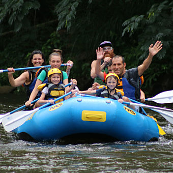 Whitewater Rafting Pigeon Forge