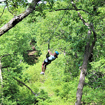 Zipline Adventure near Kansas City