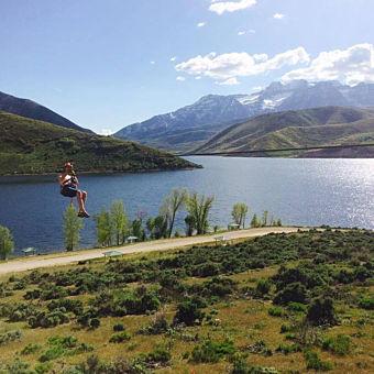 Zipline Tour in Utah