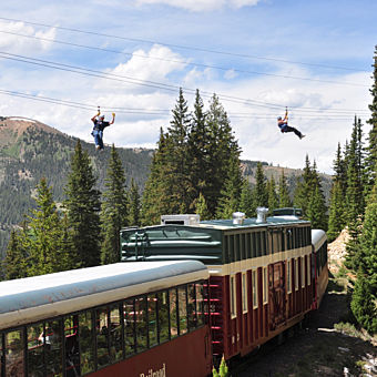 Leadville Train and Zip Line Tour
