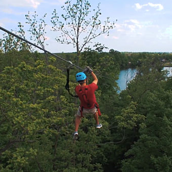Zipline in Indiana