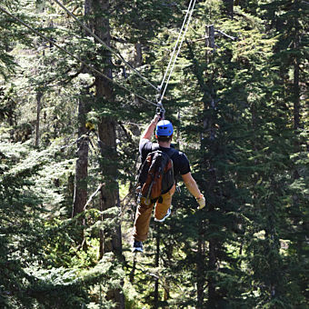 Zipline Tour in Alaska