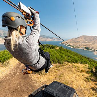 Ultimate Zipline Adventure Tour near Salt Lake City