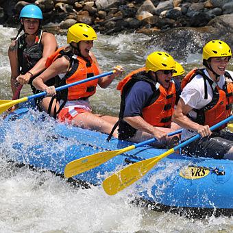 Rafting on Deerfield River