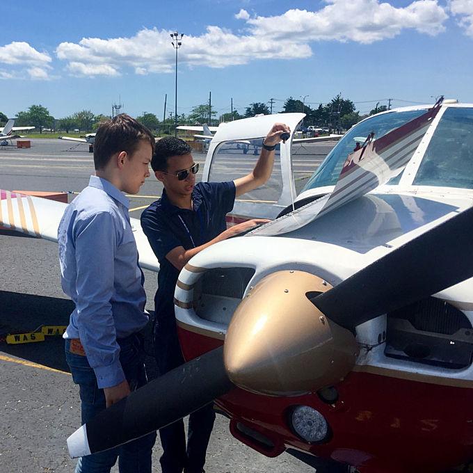 Introductory Flight in Farmingdale, NY