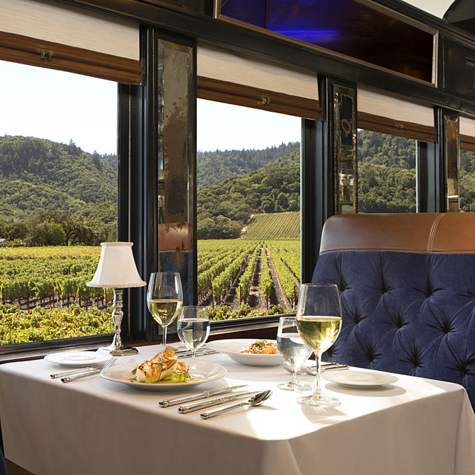 Train Tour through Napa