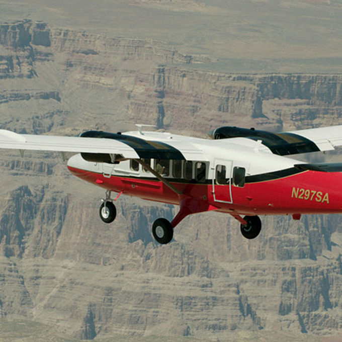 Scenic Flight Over the Grand Canyon