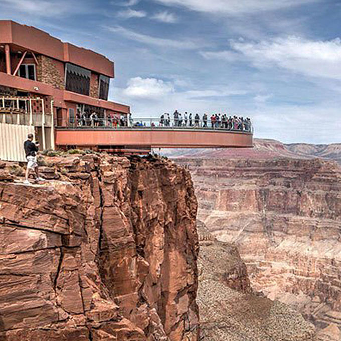 West Rim Grand Canyon Aerial Tour