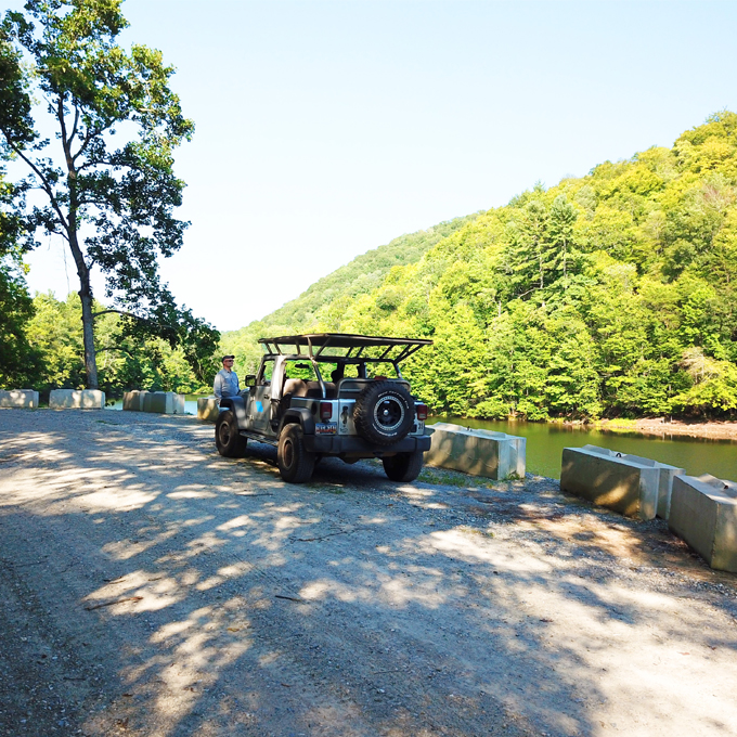 Jeep Wrangler Tour in NC