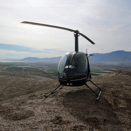 Fly a Helicopter in Palm Springs