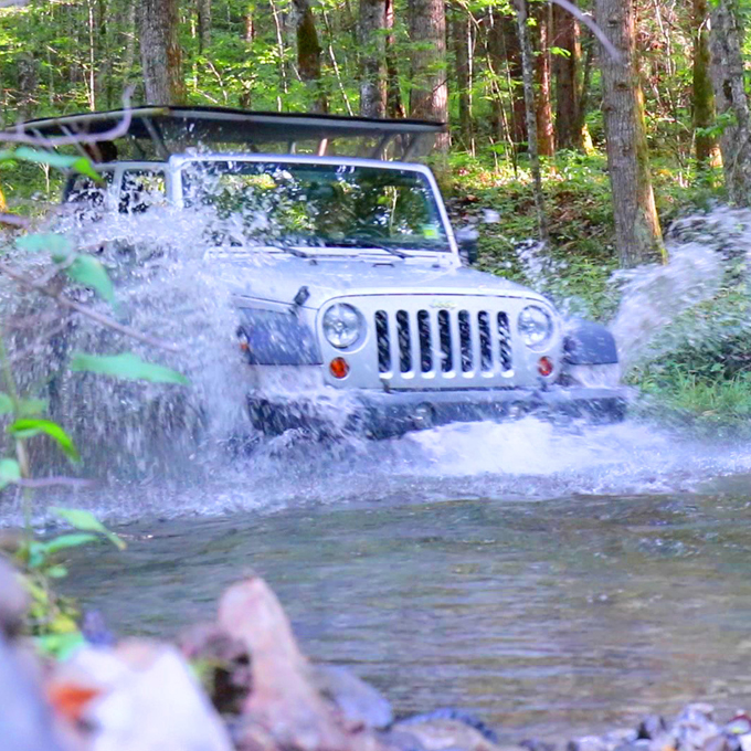 Jeep Wrangler Guided Tour in North Carolina