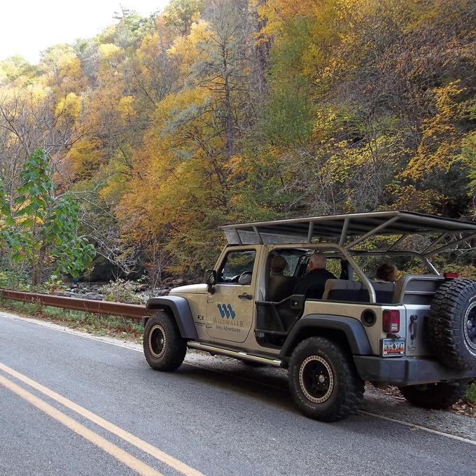 Jeep Tour in Nantahala NC