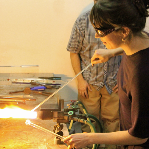 Private Class in Glass Blowing