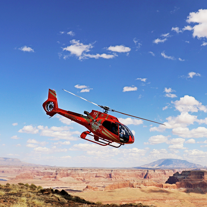 Luxury Helicopter Tour from Page, AZ
