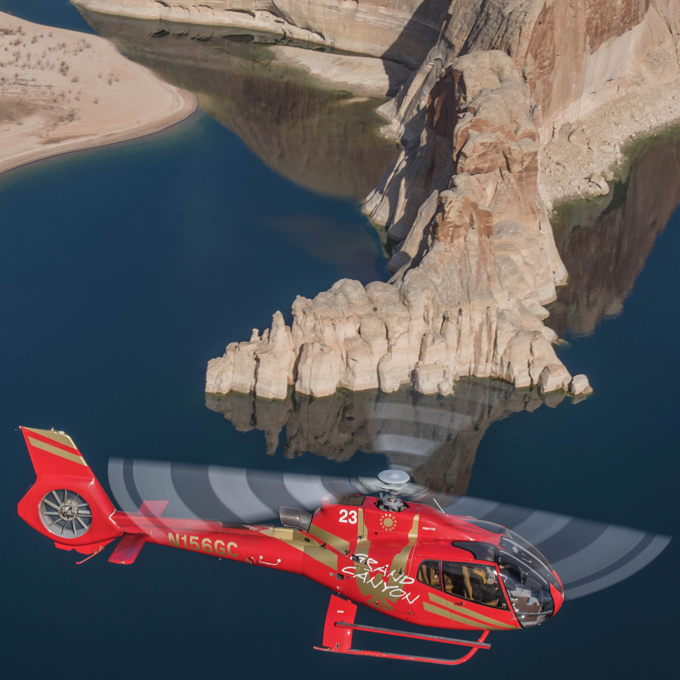 Arizona Helicopter Tour over Lake Powell and Alstrom Point