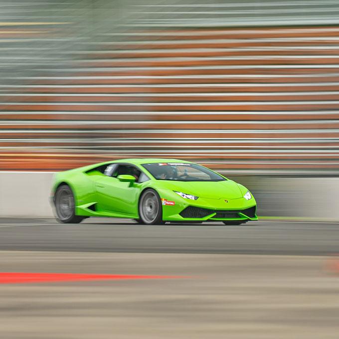 Race a Lamborghini at NOLA Motorsports Park