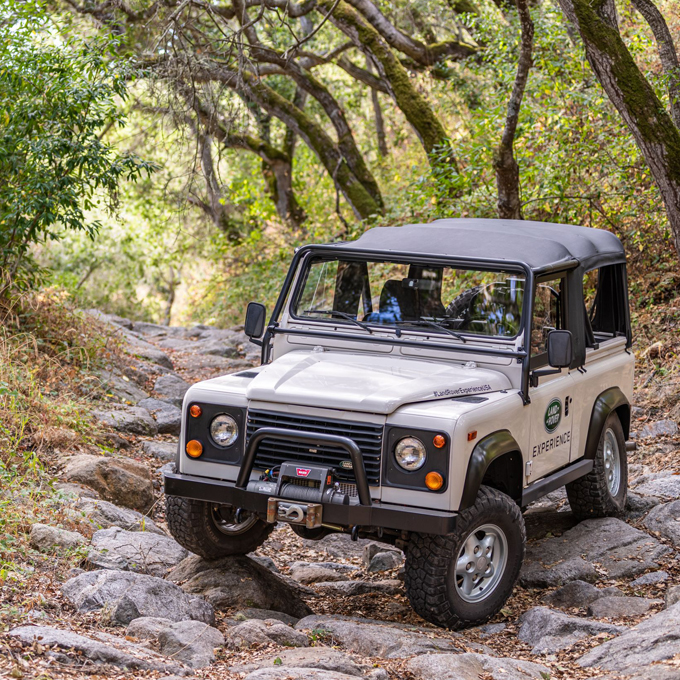 Off-Road Land Rover Lesson in Carmel, CA