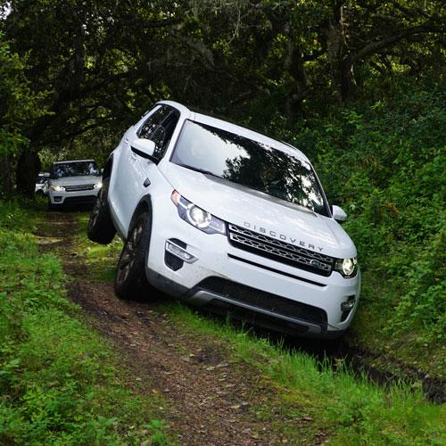 Drive a Land Rover near Sacramento