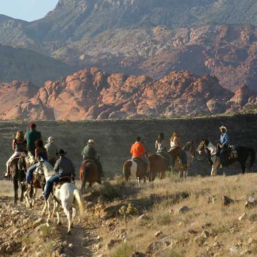 Horseback Trail Ride in Las Vegas