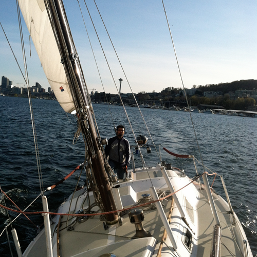Sailing Lesson in Seattle