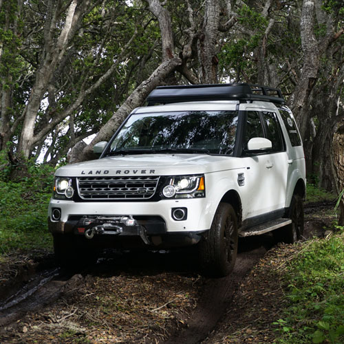 Trail Lesson with Land Rover in Asheville